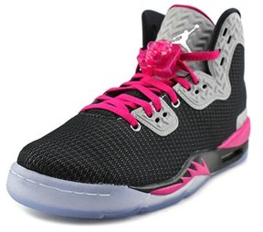 Jordan Air Spike Forty Pe Youth Round Toe Synthetic Multi Color Basketball Shoe.