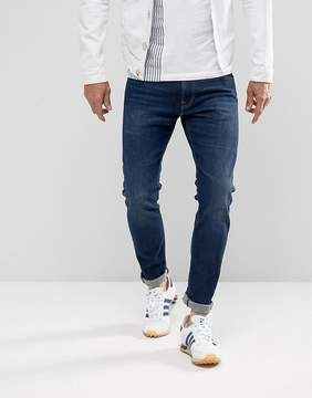 Edwin ED-85 Slim Tapered Drop Crotch Jeans Solstice Wash