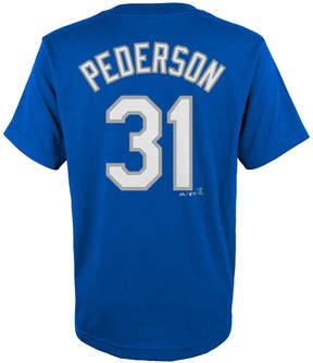 Majestic Kids' Joc Pederson Los Angeles Dodgers Player T-Shirt, Big Boys (8-20)