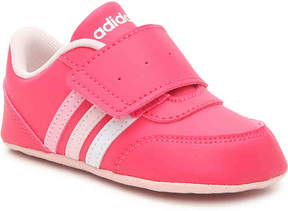 adidas Girls V Jog Infant Crib Shoe
