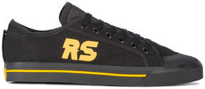 Adidas By Raf Simons Black Yellow Spirit Low sneakers