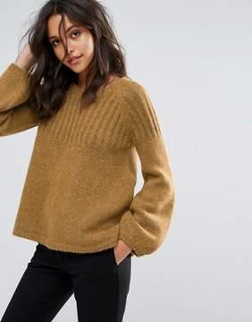 BA&SH Bell Sleeve Knit Sweater