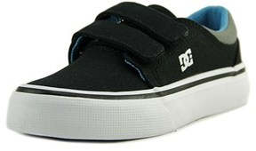 DC Cole Signature Youth Round Toe Synthetic Black Skate Shoe.