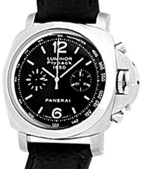 Panerai 1950 PAM212  Luminor Flyback Chronograph Stainless Steel Watch
