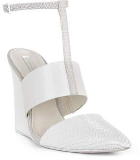 BCBGMAXAZRIA Lister Textured Wedge Sandal