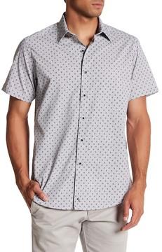 Robert Graham Scenic Byways Short Sleeve Print Woven Classic Fit Shirt