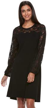 Apt. 9 Women's Lace Yoke A-Line Dress