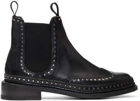Rag & Bone Black Benson Chelsea Boots