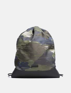 Calvin Klein camo flat backpack