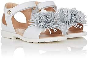 Aquazzura Kids' Wild Leather Sandals