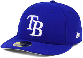 New Era Tampa Bay Rays Low Profile C-dub 59FIFTY Fitted Cap
