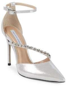 Saks Fifth Avenue Stone Leather Pumps
