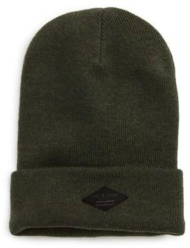 Rag & Bone Addison Stretch Merino Wool Knit Cap - Green