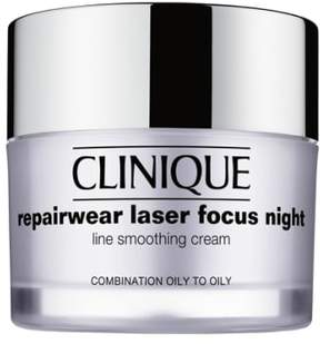 Clinique 'Repairwear Laser Focus' Night Line Smoothing Cream For Combination Oily To Oily Skin