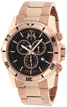 Jivago Mens Rose Goldtone Bracelet Watch-Jv6122
