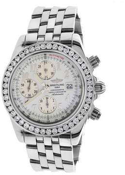 Breitling A13355 Crosswinds Racing Chronograph Stainless Steel 42.7mm Mens Watch