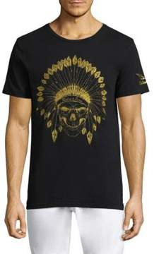 Robin's Jeans Indian Skull Cotton Tee