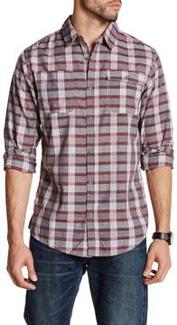 Burnside Regular Fit Plaid Shirt