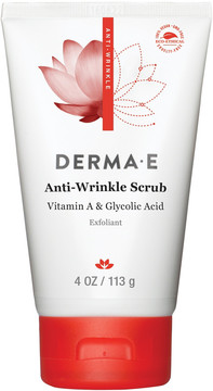 Derma E Anti Wrinkle Vitamin A Glycolic Scrub with Vitamin C and E