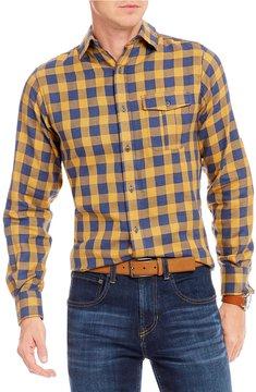 Daniel Cremieux Slim-Fit Check Long-Sleeve Woven Shirt
