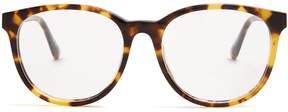 Stella McCartney Falabella round-frame acetate glasses