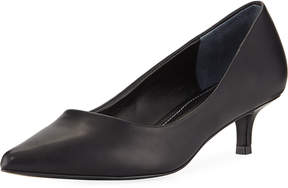 Charles by Charles David Dare Low-Heel Leather Pump