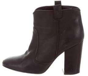 Laurence Dacade Leather Round-Toe Ankle Boots