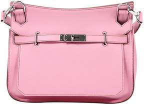 Hermes Jypsiere leather satchel - PINK - STYLE