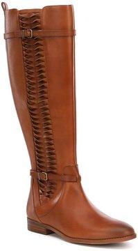 Gianni Bini Kaine Side Twist Detail Slim Calf Block Heel Riding Boots