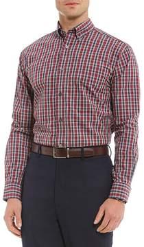 Daniel Cremieux Signature Plaid Long-Sleeve Woven Shirt