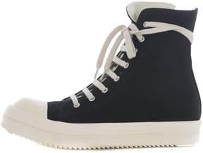 Drkshdw Canvas Hi Top Sneakers