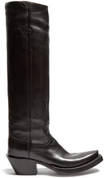 Vetements Texan knee-high boot