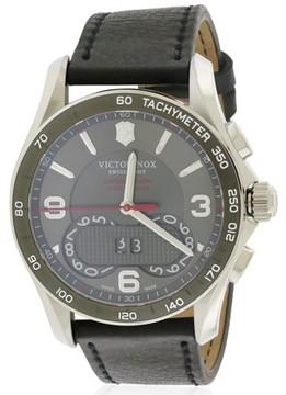 Victorinox Chronograph Leather Mens Watch 241616