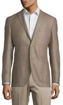 Corneliani Plaid Notch Jacket