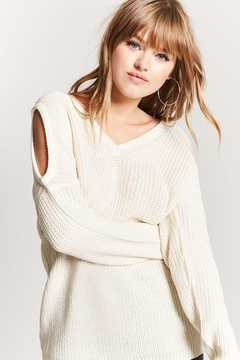 Forever 21 Open-Shoulder Sweater