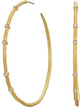Dogeared Infinity + One, Halo Hoops Earrings Earring