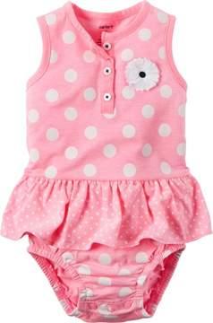 Carter's Baby Girls Polka Dot Sunsuit