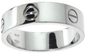 Cartier Love 950 Platinum Wedding Band Ring Size 10.25