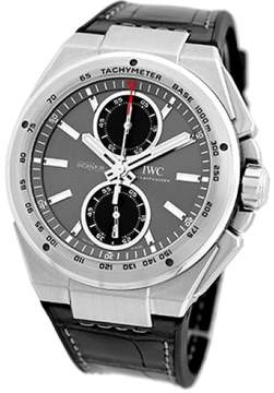 IWC Ingenieur Chronograph Racer Stainless Steel Automatic Mens Strap Watch