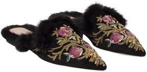 Alberta Ferretti Flat Slippers
