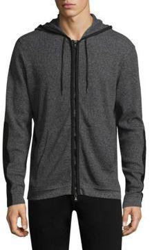 John Varvatos Knit Hooded Jacket