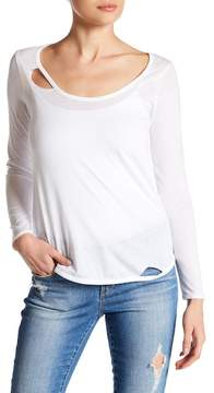 Chaser Cutout Long Sleeve Tee