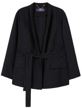 Violeta BY MANGO Unstructured flowy blazer
