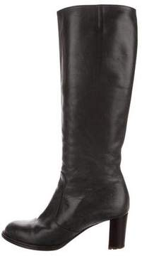 Dries Van Noten Knee-High Leather Boots