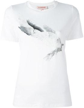 A.F.Vandevorst dove print T-shirt