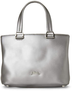 Longchamp Silver Honore 404 Small Satchel - SILVER - STYLE