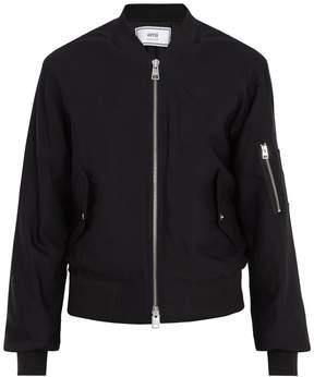 Ami Round-neck bomber jacket