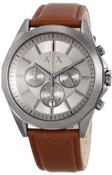 Armani Exchange Chronograph Gunmetal Dial Men's Watch