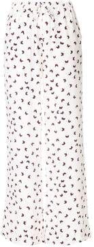 P.A.R.O.S.H. butterfly printed trousers