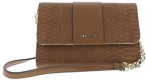 Nine West Womens Table Treasures Aleksei Faux Leather Shoulder Handbag